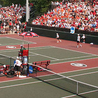 University of Georgia Women's Tennis at Arkansas
