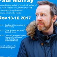 """How do I start my novel?"" Lunch & Learn with Author Paul Murray"
