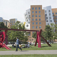 Stata Center and public art