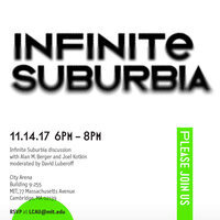 Infinite Suburbia Book Launch and Reception