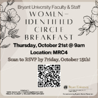 Bryant Women-Identified Affinity Circle Breakfast