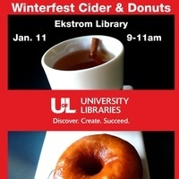 Winterfest Cider and Donuts @ Ekstrom Library