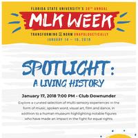 MLK Week Spotlight: A Living History