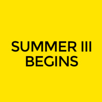 Summer III Classes Begin