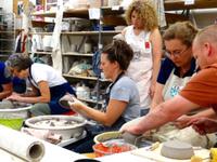 Throwing Clay: A Pottery Studio Workshop — A CAU summer program led by Julia Dean