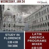 Study Abroad in Florence - Part of Study Abroad Week