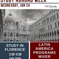 Study Abroad in Latin America - Mixer - Part of Study Abroad Week