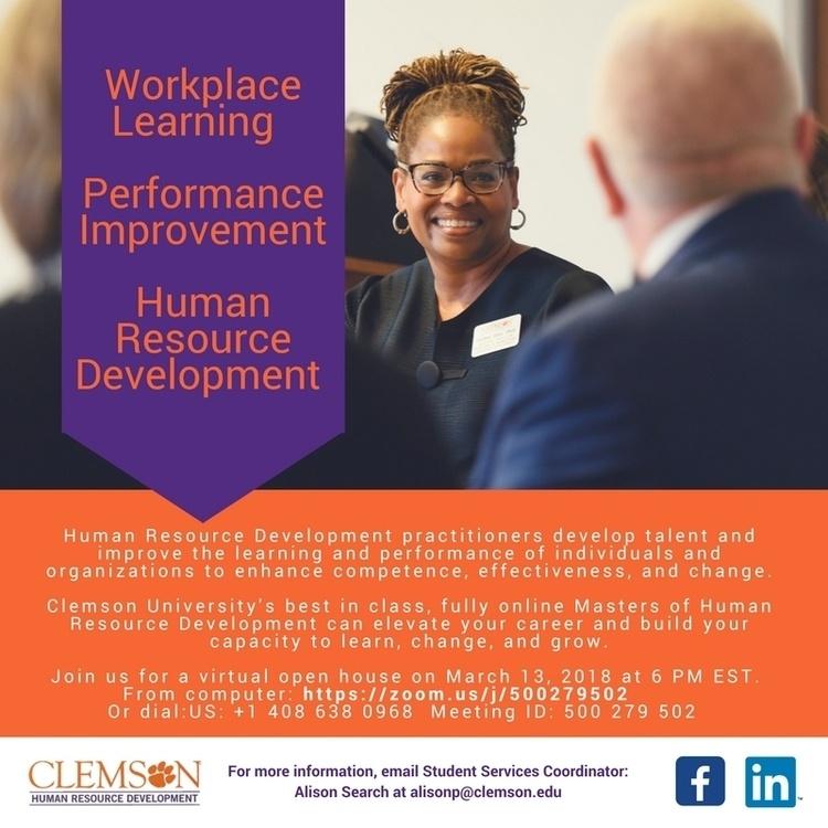 Master of Human Resource Development Virtual Open House