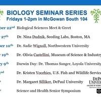 Biology Science and Health Senior Symposium