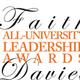 Faith Davies All-University Leadership Awards and Luncheon