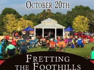 Fretting The Foothills Songwriter & Music Festival