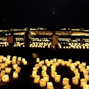 earth hour in Canberra