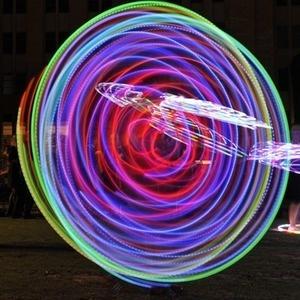 Abstract lights display