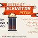 Crafting an Elevator Pitch that will Leave a Lasting Impression