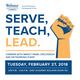 SERVE, TEACH, LEAD.  Careers with Impact
