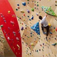 Cardinal & Gold: Rock Climbing