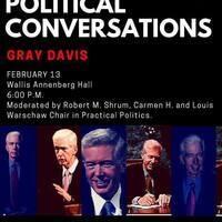 Political Conversation with Gray Davis
