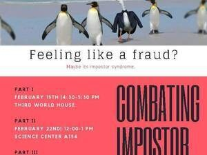 Impostor Syndrome: Workshop Series