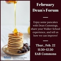 February Dean's Forum