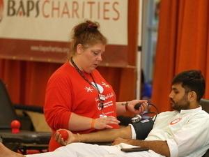 BAPS Charities Fall Blood Drive
