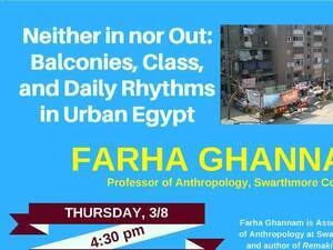 Neither in nor Out: Balconies, Class, and Daily Rhythms in Urban Egypt