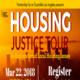 Housing Justice Tour