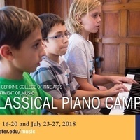 Webster University Classical Piano Camp