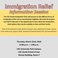 Immigration Relief Information Session