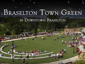 Braselton Movie Under the Stars on the Green
