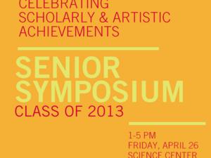 Senior Symposium 2013