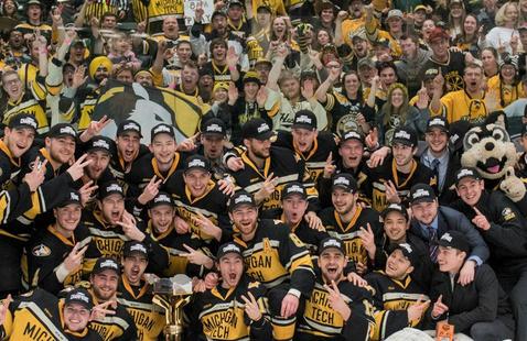 NCAA Hockey Tournament Pregame - Bridgeport, CT