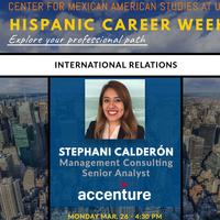 Hispanic Career Week: Stephani Calderón, Senior Analyst Accenture