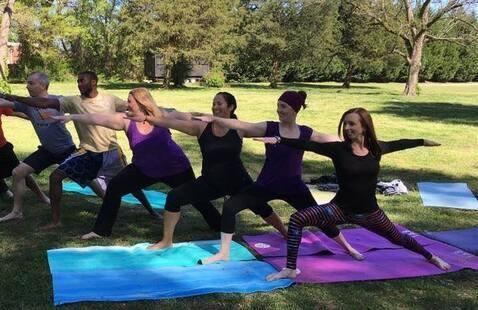 Grayson Yoga in the Park