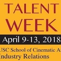 USC SCA Talent Week