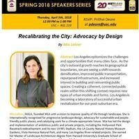 Recalibrating the City: Advocacy by Design