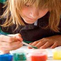 art child painting