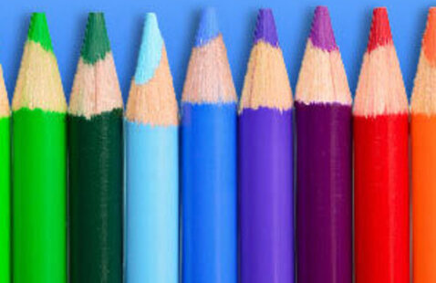 colored pencils creative art drawing