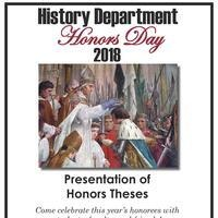 History Department Honors Day!