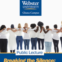 "Public Lecture: ""Breaking the Silence: An African Perspective on #MeToo"""