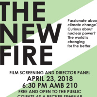 Free Screening of The New Fire and Director Panel