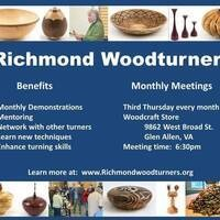 Richmond Woodturners Monthly meeting