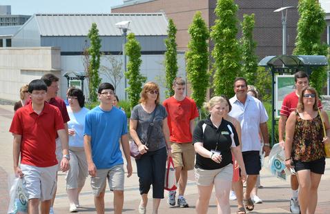 Open House, walking tour