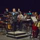 Cristi Macelaru and the Cabrillo Festival Orchestra at the Santa Cruz Civic Auditorium. Photo by rr jones.