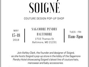 Soigné Couture Design Pop-Up Shop