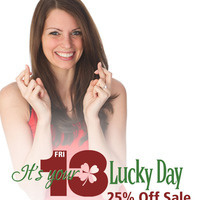 Friends of Strong Gift Shop 'Lucky You!' 25% off Sale