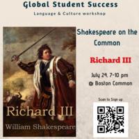 Free Shakespeare on the Common-Richard III
