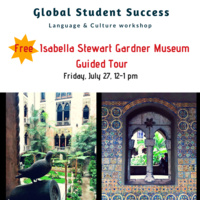 Free Isabella Stewart Gardner Museum Guided Tour