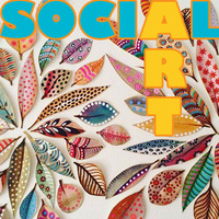 Art Social ~ Bold & Bright liquid watercolor paintings