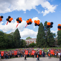 New Student Walk and Convocation