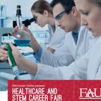 Healthcare and STEM Career Fair Presented by FAU Career Center